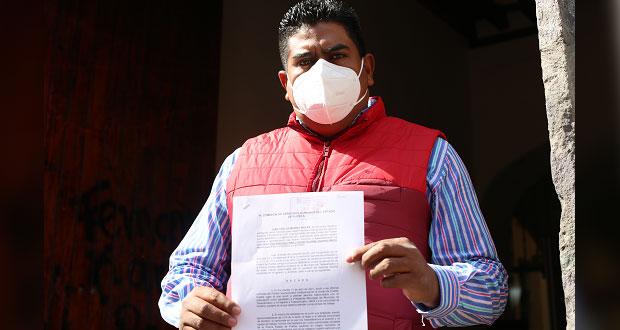 Candidato del PRI en Tepeyahualco denuncia en CDH acoso