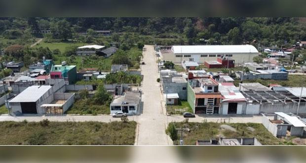 Colonia en Huauchinango, con servicios e infraestructura: Antorcha