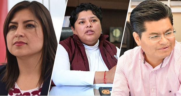 Morena confirma candidaturas de Rivera, Pérez y Teutli para reelección