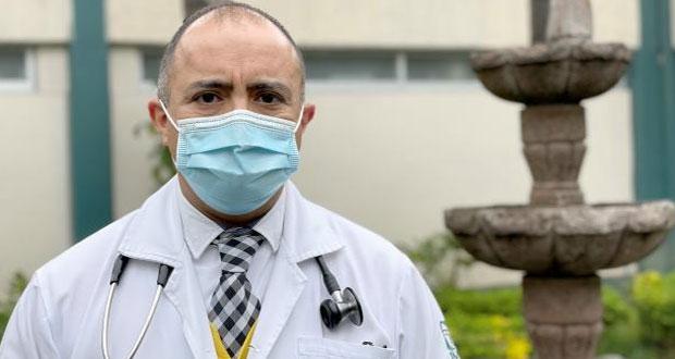 Después de 12 días de intubación, médico del IMSS vuelve a laborar
