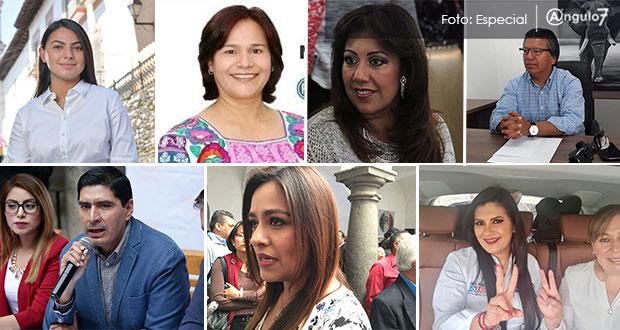 Ellos buscan las diputaciones federales de Puebla con Va por México