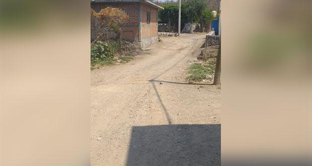 En Epatlán, llevan 5 años sin obras de desarrollo, acusan