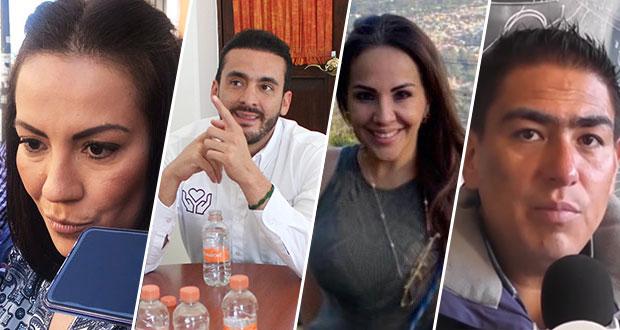 Exfuncionarios, entre candidatos restantes de Morena por diputaciones locales
