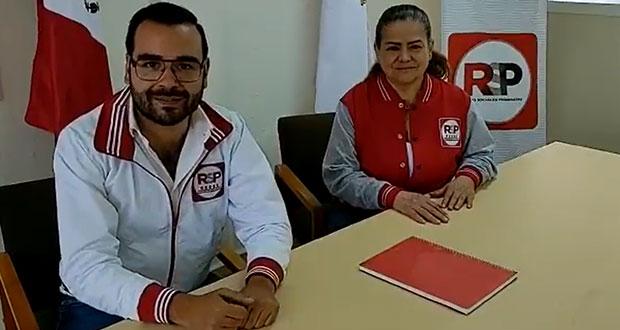 Expriista América Soto, candidata de RSP por alcaldía de Puebla; van 8