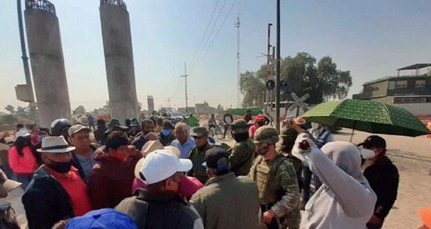 Federación y Xaltocan acuerdan fin a bloqueo por nuevo aeropuerto