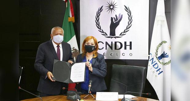 INM y CNDH capacitarán a funcionarios contra violencia a migrantes