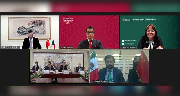 México y China firman para facilitar registro de vacunas y medicinas