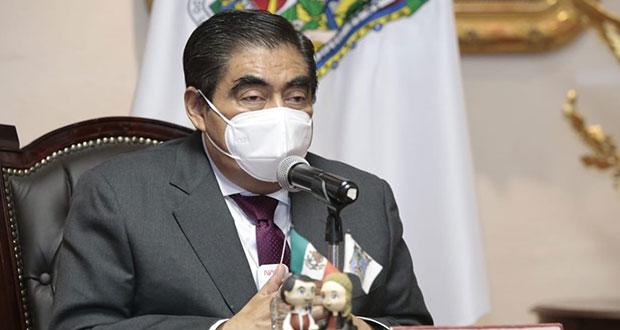 Puebla, aún sin condiciones de semáforo amarillo, reitera Barbosa