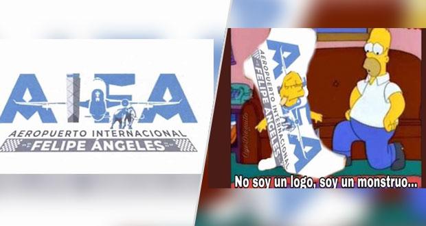 Sale supuesto logo de Aeropuerto Felipe Ángeles; redes se dan vuelo