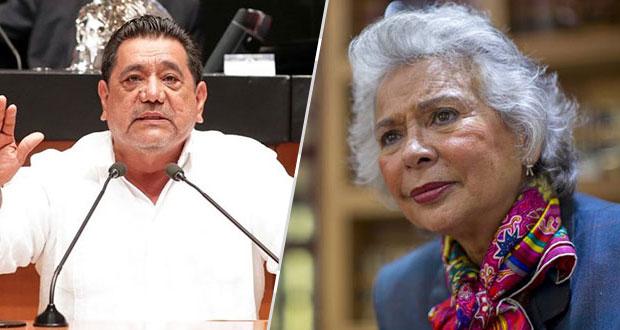 Salgado lanza advertencia a consejeros del INE; Segob le exige respeto