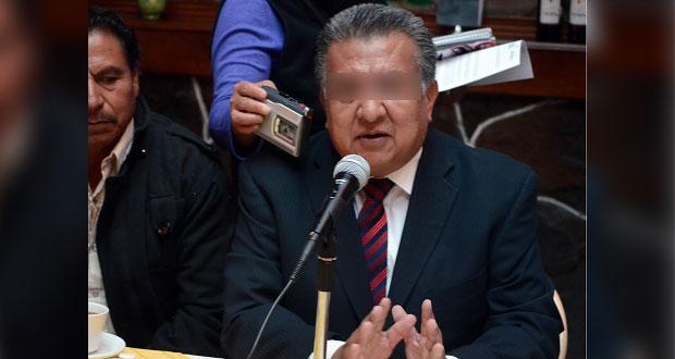 Inicia proceso de desafuero contra diputado poblano Saúl Huerta