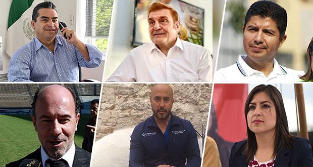 Suman seis candidatos que buscarán la alcaldía de Puebla el 6 de junio