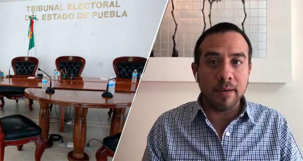 TEEP avala medidas cautelares contra Oswaldo Jiménez hechas por IEE