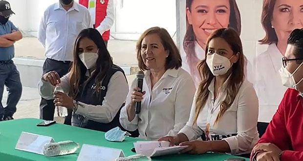 """""""Trabajo sucio"""" contra Claudia Rivera, por ella misma: Aranda"""