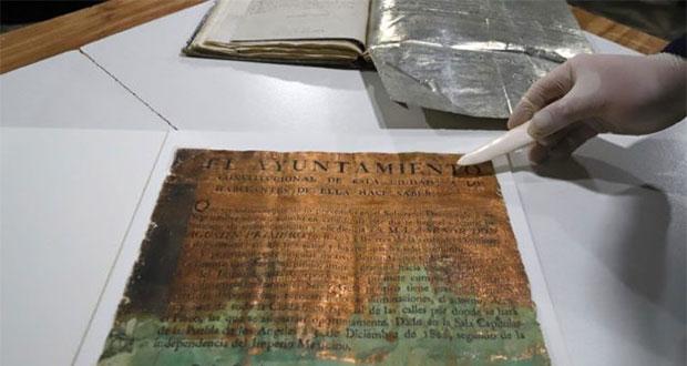 Tras independencia, Puebla fue de últimos en jurar lealtad a Iturbide