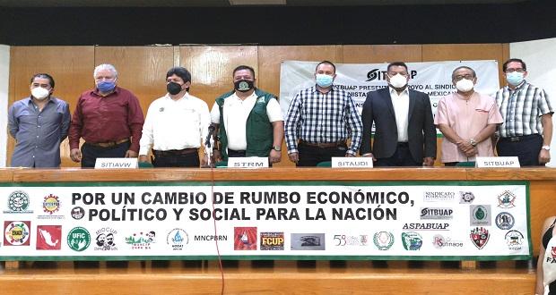 Tras un año, UNT reanudará marcha por el Día del Trabajo en Puebla