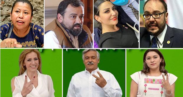 Ellos son los candidatos de JHH por las diputaciones federales de Puebla