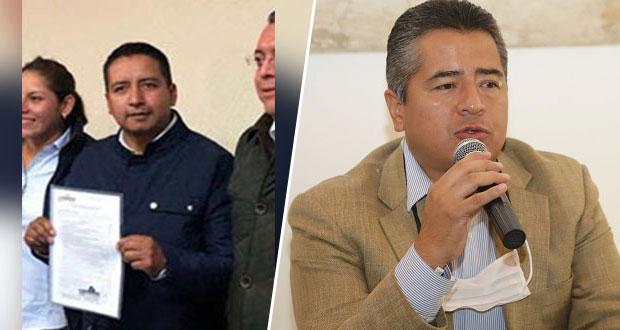 Ahora, Cuautli impugna registro de Tlatlehui como candidato del PAN a Cholula