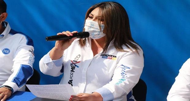 Morena incumplió promesas de campaña: Genoveva Huerta. Foto: Especial