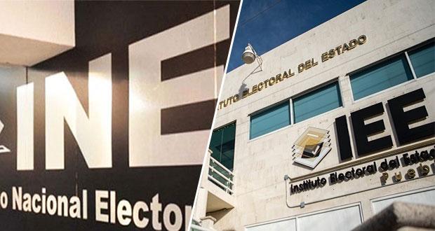 INE exonera a consejeros del IEE de Puebla por anomalías en elección de 2018