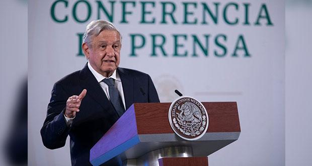 AMLO enviará queja a EU si se comprueba financiamiento a MCCI