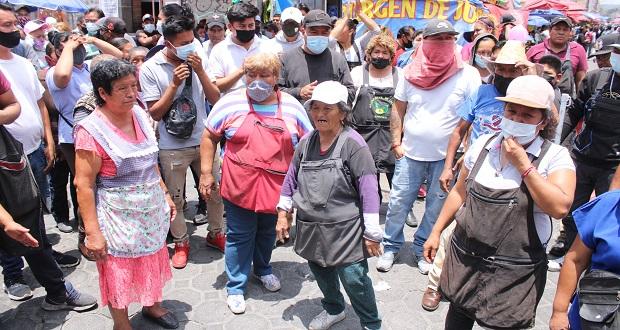 """Ambulantes y ministeriales chocan por intento de detención del """"Fede"""""""