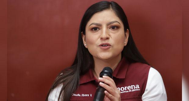 Ampliar apoyos a mujeres, propone Claudia Rivera ante trabajo sexual