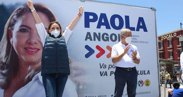 """Angon, sin denostar a contrincantes; campaña fue """"de altura"""", afirma"""
