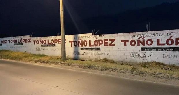 Antorcha acusa a Antonio López de campaña anticipada por distrito 20
