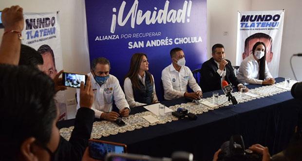 Blanca Jiménez y Cuautli se suman al panista Tlatehui