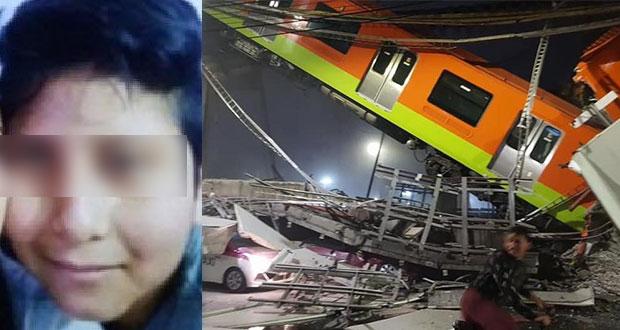 Brandon, de 12 años, entre muertos por caída del Metro; lista, aquí
