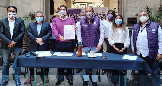 Candidatos del PES firman acuerdo para garantizar derecho a la vida
