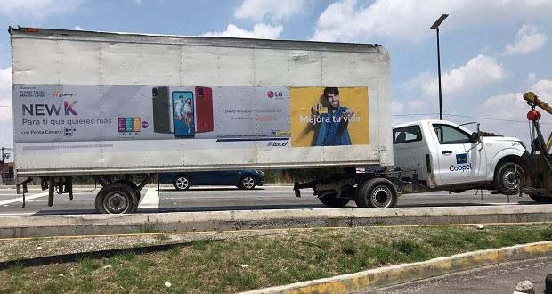 Detienen a presunto asaltante de camión Coppel en la Puebla-Tlaxcala