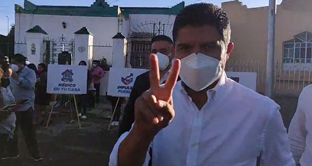 Eduardo Rivera rechaza ser apoyado por gobierno estatal