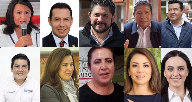 Ellos son los 26 perfiles de Va por Puebla para llegar al Congreso local