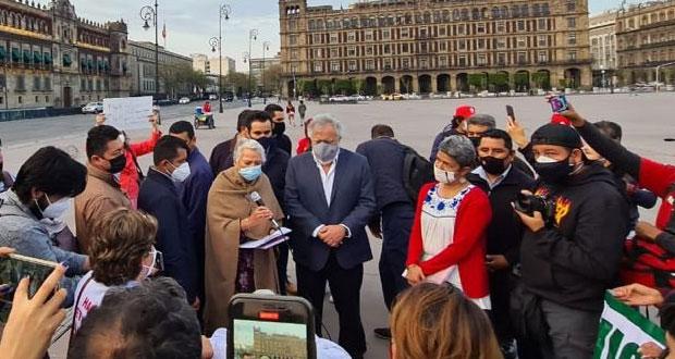 Gobierno, comprometido con familiares de víctimas de desaparición