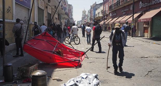 IP pide buscar diálogo con ambulantes tras riña en Centro Histórico