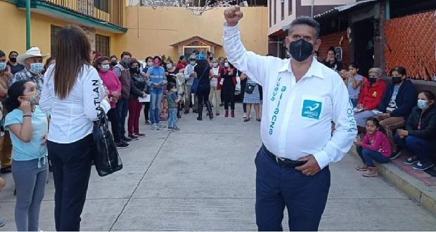 Impulsar academia policial regional en Zacatlán: César Olvera