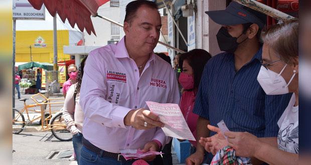 Impulsar turismo en beneficio de Puebla capital: Rivera Santamaría