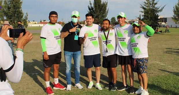 Incentivar el deporte dignificando parques, propone Ruiz Esparza