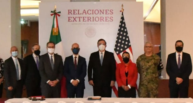 México y EU discuten estrategias contra tráfico de drogas y armas