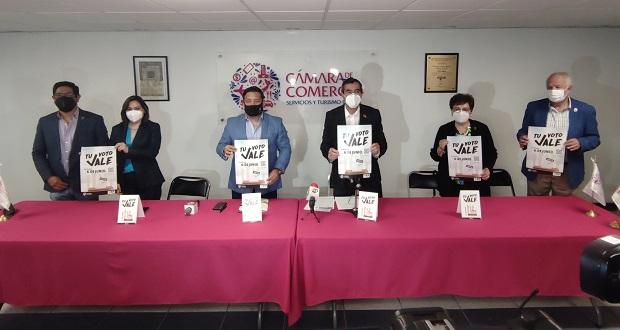 Negocios en Puebla darán descuentos y promociones a quienes voten