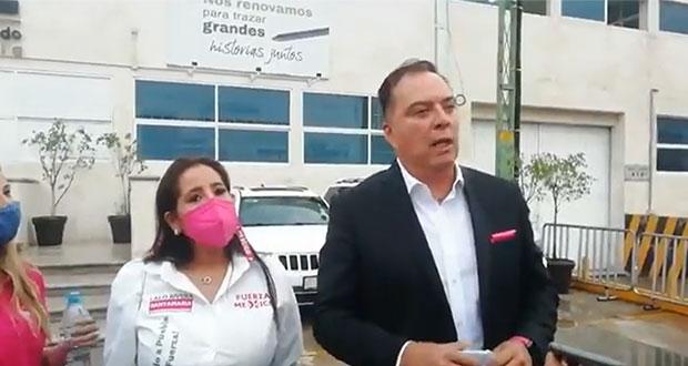 Impugnará Rivera Santamaría pérdida de candidatura a la alcaldía