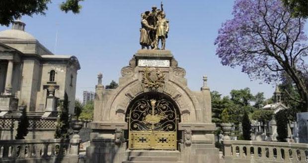 """Panteón Francés de Puebla, la """"reconciliación"""" tras el 5 de Mayo"""