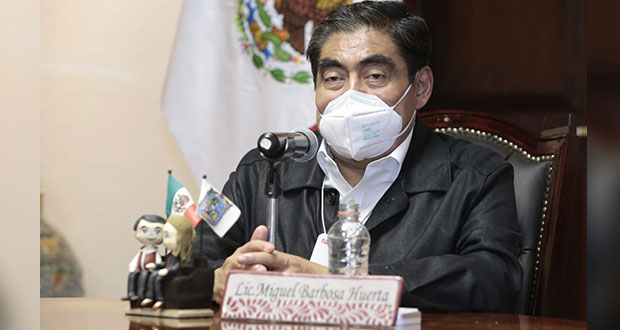 Por el 5 de mayo, el pasado de Puebla es heroico: Barbosa