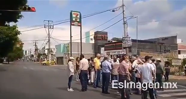 Protestas en Las Ánimas contra retiro de rejas; son de protección