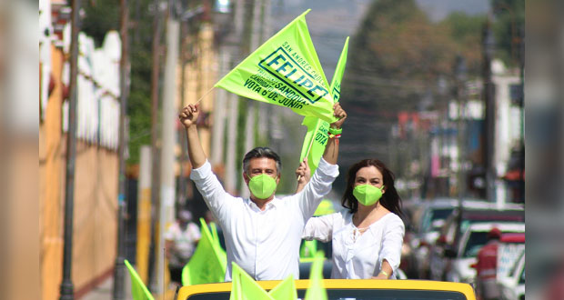 Rescatemos San Andrés Cholula de malos gobiernos: Felipe Sandoval