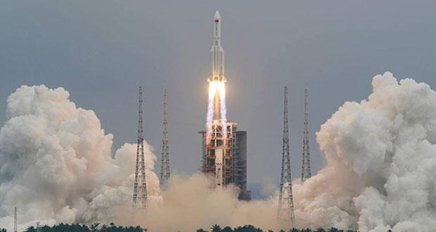 Restos de cohete chino podrían caer en el océano Pacifico