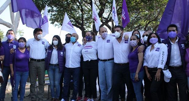 Sin participar en política, no se puede cambiar vida pública: Ochoa