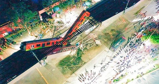 Suman 24 muertos por caída de L12 del Metro de CDMX; aquí la lista de heridos